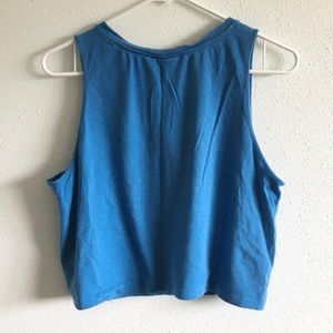 adidas Tops - Adidas Retro Cropped Tank Top Shirt Women's Large